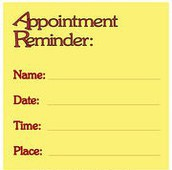 APPOINTMENT POLICY