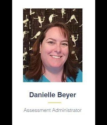 Meet Ms. Beyer, WAVA Assessment Administrator