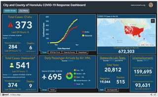 Covid-19 Information Dashboard