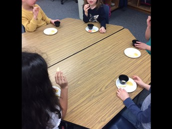 Students Have a Taste Test!
