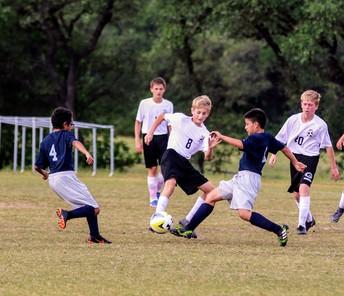 7th Grade Soccer in Action!