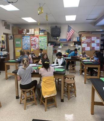 Science with Mrs. McLain