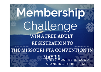 Missouri PTA's January Membership Challenge