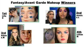 Fantasy/Avant Garde Makeup Winners