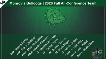 All-Conference Athletes (Fall 2020)