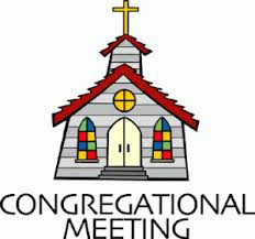 Congregational Meeting-Nov. 4th