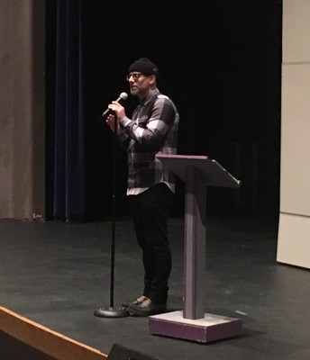 Author Kevin Coval