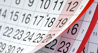 Upcoming Important Dates