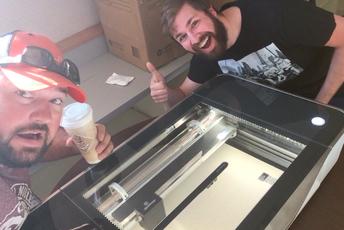 Laser cutting !