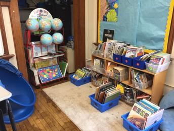 Upper elementary reading opportunities