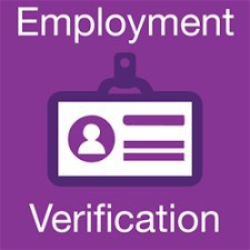 Employment Verification Email