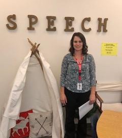 Mrs. Drabek, Speech Language Pathologist (SLP)