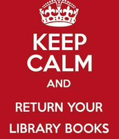Library Books Due Wed., Aug. 2, 2017