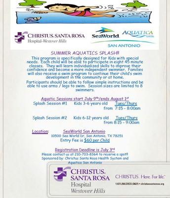 Summer Aquatics Splash