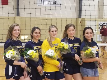 Senior Volleyball Night