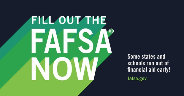 Click here to start your FAFSA Application