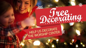 Let's Make the Church Beautiful for Christmas!