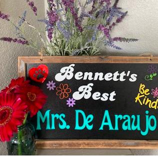 Bennett's Best Recipient    Liz De Araujo