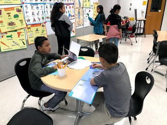 Stations with Ms. Foster