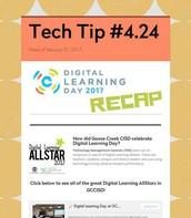 Digital Learning Day Recap