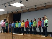 Seasons of Love performed by an amazing, talented group of educators!  They were incredible!