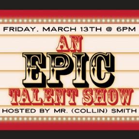 Talent Show ~ Postponed