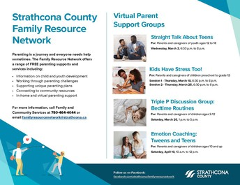 Virtual Parent Support Groups