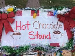 Hot Chocolate Sale