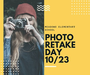 Picture Retake Day on 10/23