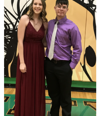 Junior Prince/Princess Candidates Ava Golubski & Alex Skocy