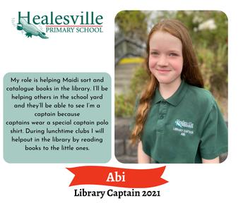 Abi – Library Captain