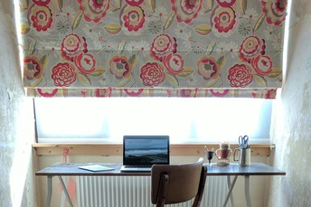 #6 Replace Heavy Curtains With Blinds or Roman Shades