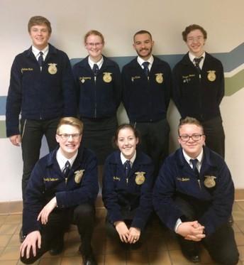 FFA Senior Team