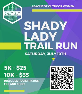 League of Outdoor Women: Shady Lady Trail Run