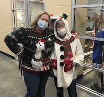 Amy Doron and Paulette Sullivan Stay Warm