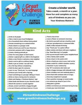 Great Kindness Challenge
