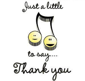 Just a Quick *Note* to Say Thank You!