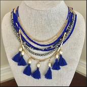 Tulum Tassel Necklace Reg $98, Sale $49
