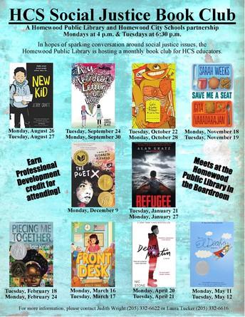 Homewood Public Library: Teacher Book Study