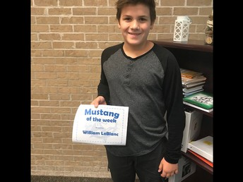 7th Grade Student of the Week
