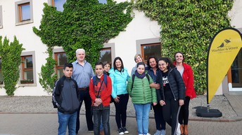 Saying Goodbye at Lough Allen Hotel