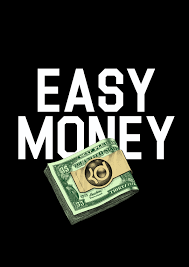 Don't forget your EASY MONEY TURN in is coming up!!!