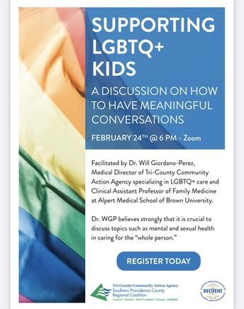 Prevention Coalition Event Feb. 24th
