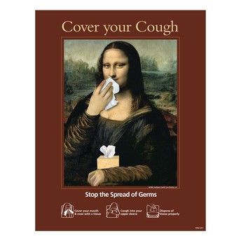 Cover the Cough... and wash your hands!
