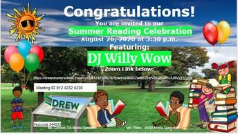 Summer Reading Celebration 2020