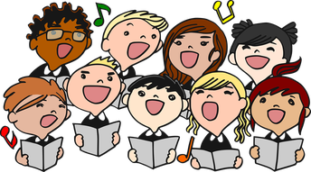 Call out for the 5th and 6th grade Choir!