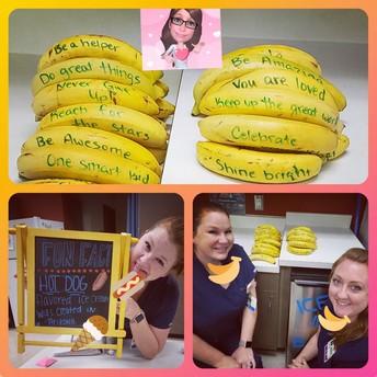 Encouraging Bananas!