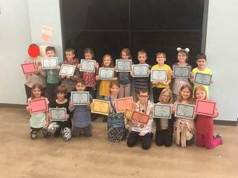 Thursday SAGE Noetic Learning Award Winners