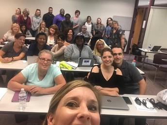 HS learning coach selfie