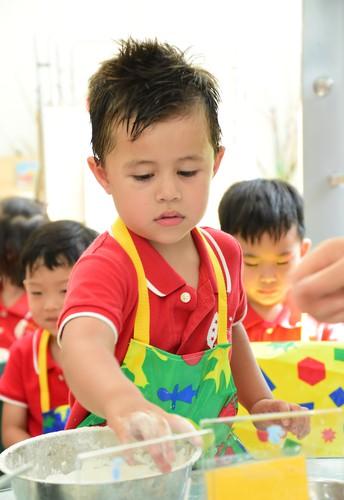 Nursery Cooking Fun! - by Mrs Jennie Bonnalie